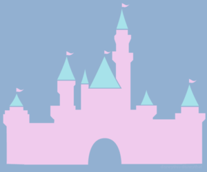 castle, child hood, and disney image