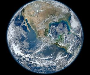earth, world, and planet image