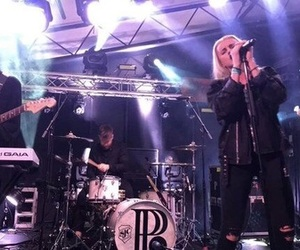 justin nace, pvris, and lynn gunn image