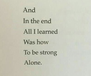quotes and alone image