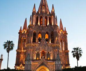 places, iglesia, and méxico image
