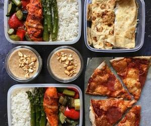 Chicken, veggies, and crepe image