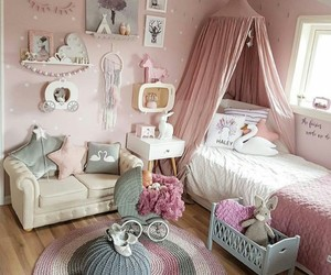 girly, little girl, and pink image
