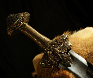 sword, medieval, and fantasy image
