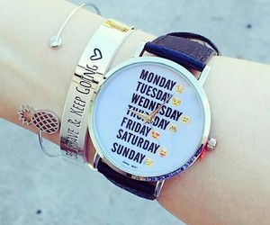 watch, fashion, and mode image