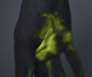 hand and glow image