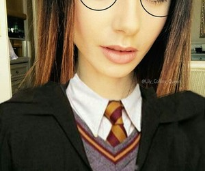 girl, harry potter, and tumblr image