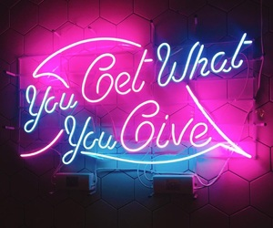 neon and pink image