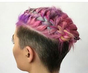 braids, hair, and short image