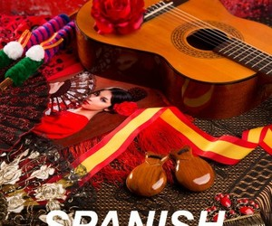 guitar, mexico, and spanish image