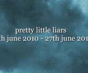 pretty little liars, end, and pll image