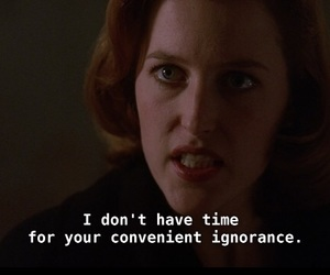dana scully and the x files image