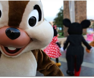 character, mickey, and chip image