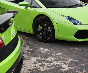 car, dope, and green image