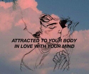 love, quotes, and mind image