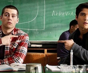 school, tyler posey, and television image