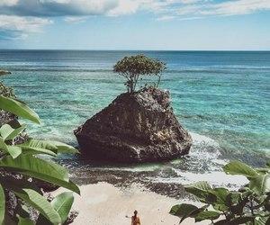 beach, deep, and landscape image