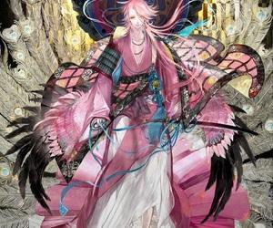 anime, souza samonji, and game image