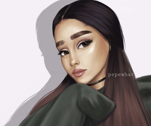 ariana grande, art, and beautiful image