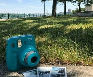 blue, camera, and fujifilm image