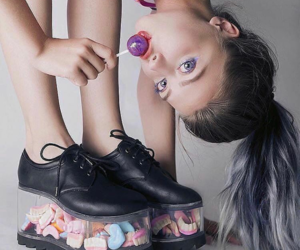 candy and shoes image