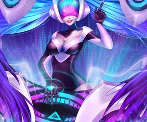 league of legends and dj sona image