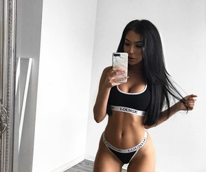 black, fit, and fitness image
