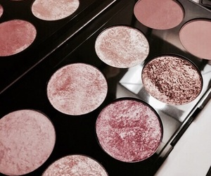 compact, eyeshadow, and pink shades image