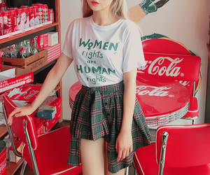clothes, korean fashion, and style image