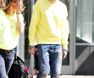 yellow, one direction, and pap image