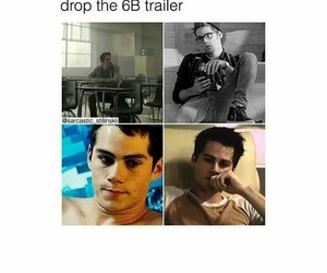 funny, teen wolf, and tw image