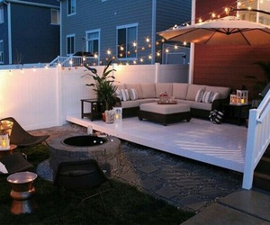 back yard, diy, and dream house image