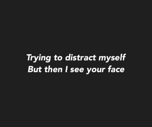 black, crush, and Lyrics image