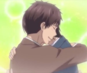 brother love, mutsumi asuma, and kiss him not me image