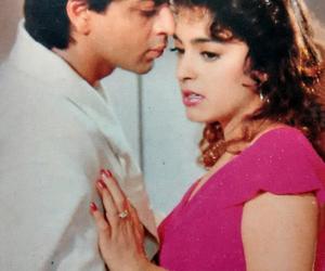 shahrukh khan and juhi chawla image