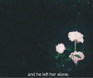 alone, goodbye, and love image