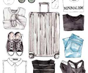 basics, black, and casual image