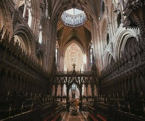 architecture, gothic, and england image