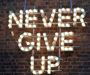 give, never, and up image