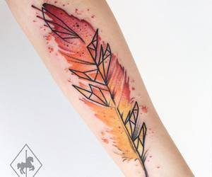 feather tattoo image