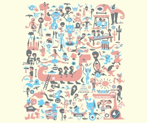 aliens, creatures, and threadless image