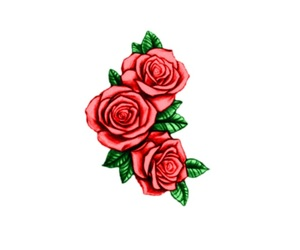 beautiful, flowers, and draw image