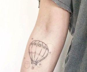 hot air balloon tattoo image