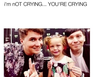 precious, amazingphil, and dan and phil image