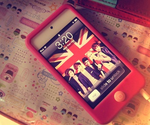 one direction, 1d, and ipod image