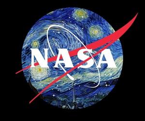 nasa, space, and art image