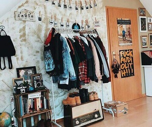 room, clothes, and design image