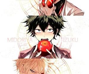 boku no hero academia, anime, and midoriya izuku image