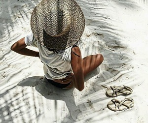 summer, beach, and style image