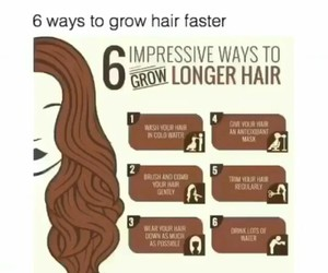diy, longer, and hair image